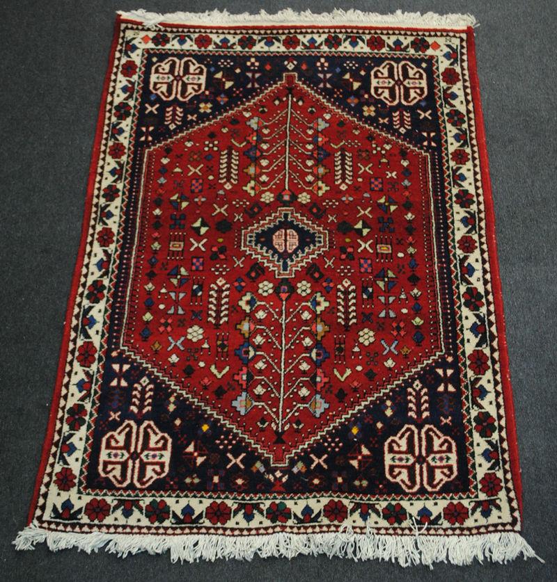 Bien connu Tapis persan Abadeh-985 RN68